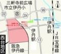 伊丹 西台 地区 地図 (あさひ)