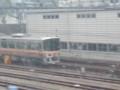 20131103 08:28 余部-太市間 車両 基地