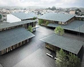 富岡 市役所の あたらしい 庁舎 (あさひ)