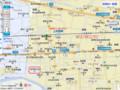 富岡の 地図