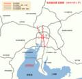 名古屋高速 位置図 (ヰキペディア)
