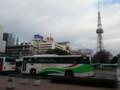 20131228 08.19.41 東濃鉄道 高速 バスと テレビ塔 02