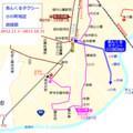 あんくるタクシー 小川町地区 路線図