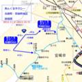 あんくるタクシー 高棚町・箕輪町地区 路線図