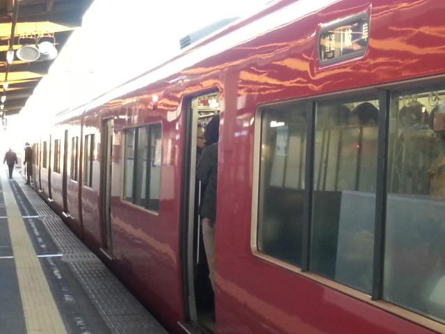 20140106 07.24.52 南安城 名鉄岐阜 いき ふつう
