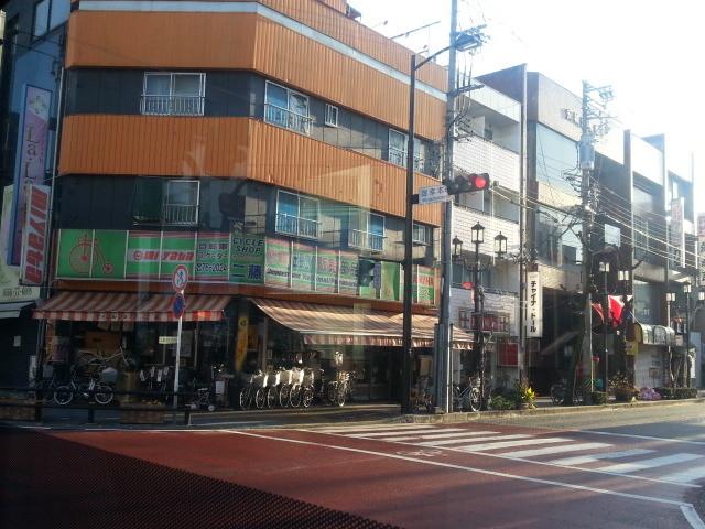 20140109 08.09.58 御幸本町 交差点 あんくるバス 桜井線 バス