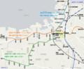 福岡地下鉄 路線図 (あきひこ)