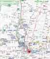 浜松市内 遠鉄バス 路線図 〔2014.5.19 かくにん〕