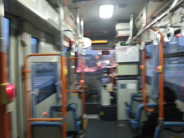 20140326 18.12.18 あんくるバス桜井線バス - まあじき古井町内会バス停