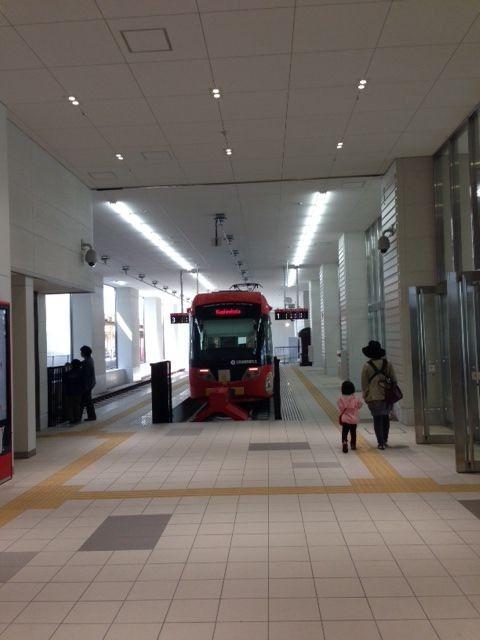 万葉線 高岡駅 (田島悠紀子さん)