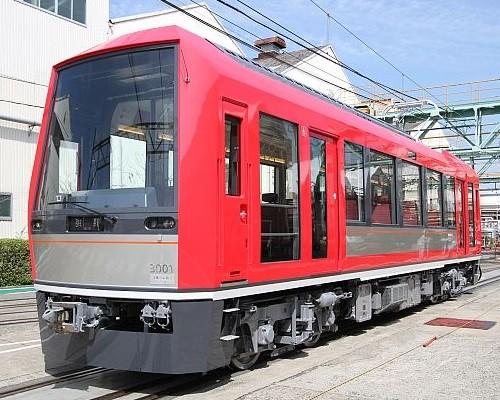 箱根登山鉄道3000がた外観(マイナビ)