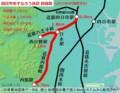 四日市あすなろう鉄道路線図(レスポンス)
