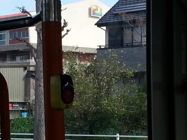 20140403 08.00.57 あんくるバス桜井線バス - 安城高校のまえ