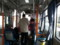 20140403 08.14.35 あんくるバス桜井線バス - JR安城駅バス停到着