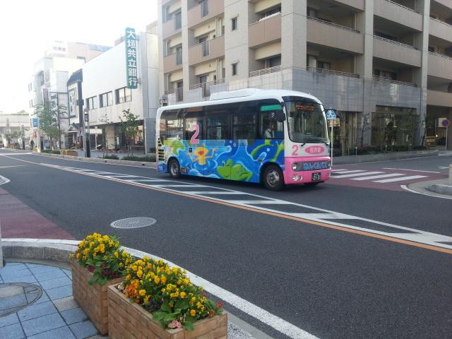 2014-04-23 08.07.52 あんくるバス桜井線バス - これから朝日町どおりえ