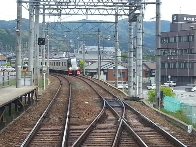 20140428 14.00.23 豊橋いき急行 - 舞木信号場