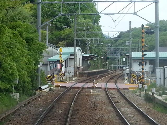20140428 14.00.45 豊橋いき急行 - 名電山中を通過