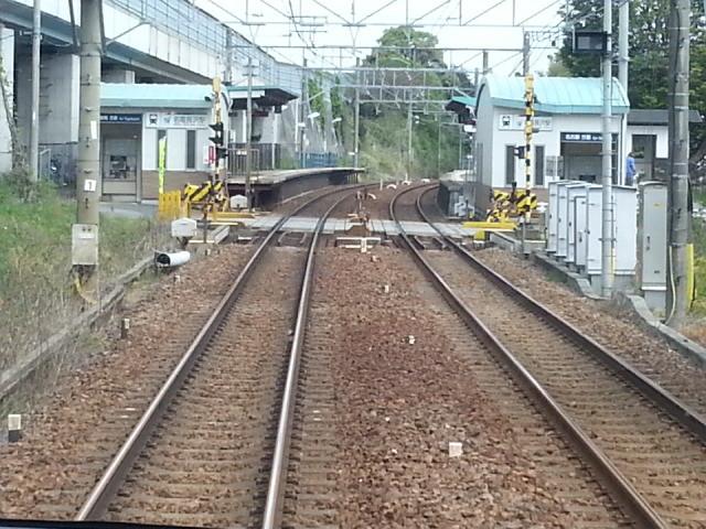 20140428 14.05.35 豊橋いき急行 - 名電長沢を通過