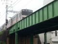20140429 13:47 東枇杷島ガード - あがりのぎんいろ電車