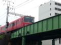 20140429 14:10 東枇杷島ガード - あがりのあかい電車