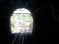 20140506 13.52.25 豊橋いきふつう - 大嵐-水窪間のトンネルをでたとこ