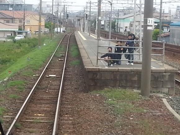 20140506 16.14.27 豊橋いきふつう - ふなまち(船町)を通過