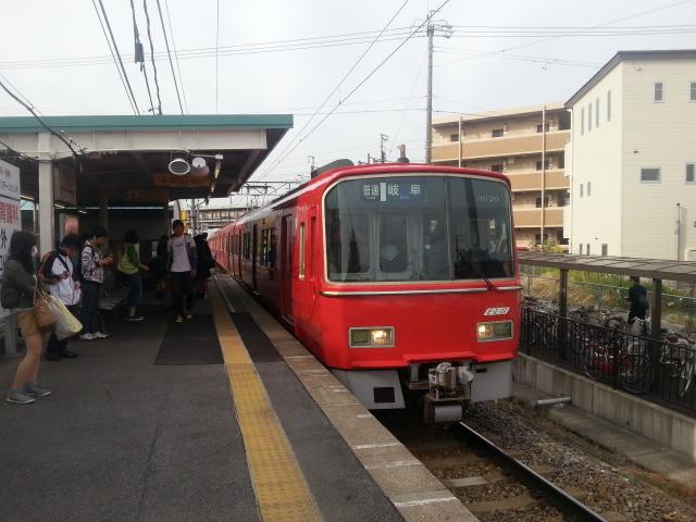 20140514 07.21.06 碧海古井 - 名鉄岐阜いきふつう