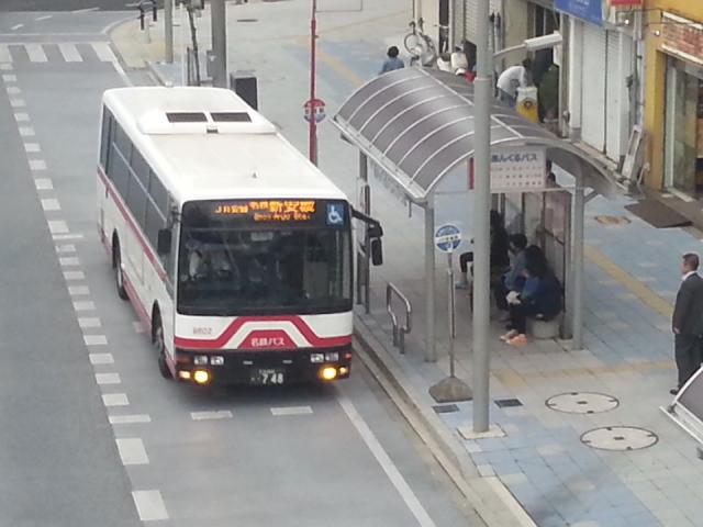 20140514 17.49.47 安城駅前 - 名鉄バス安城線バス