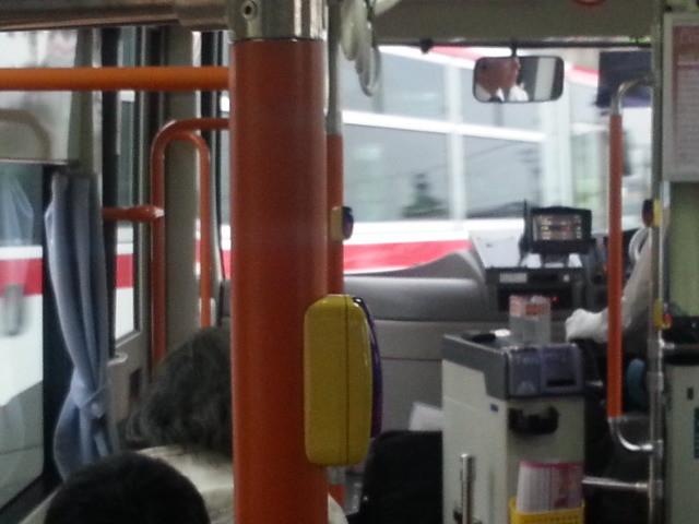 20140514 18.05.30 あんくるバス桜井線バス - 安城更生病院出発