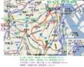 東急 池上線・多摩川線 路線図 (あきひこ)