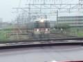 20140702 12.04.06 豊橋いき快速特急 - 飯田線電車とすれちがい