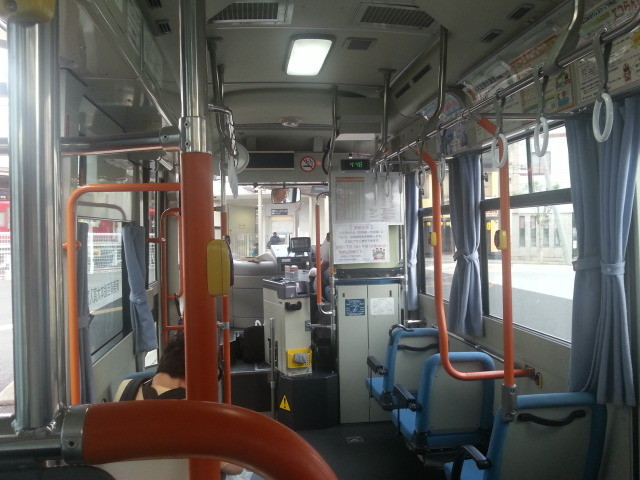 20140905 16.48.23 作野線バス - 新安城駅