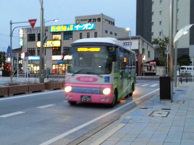 20140912 18.01.10 JR安城駅 - 桜井線バス