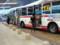 20140916 18.06.24 安城更生病院 - 高棚線バスと名鉄バス