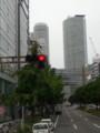 20140919 10:35:37 ナゴヤSKYバス - 桜どおりからセントラルタワーをみる