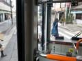 みぎまわり循環線バス - 南安城駅ロータリーをでるとこ