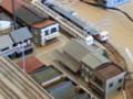 西幡豆のまちなみ、たま電車、あまちゃん列車