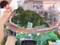 犬山橋をはしる豊橋鉄道の新旧電車