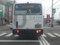 安城警察署前交差点をみぎにまがらあとするみぎまわり循環線バス