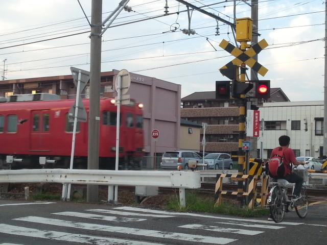 新安城3号ふみきり - 東岡崎いきふつう