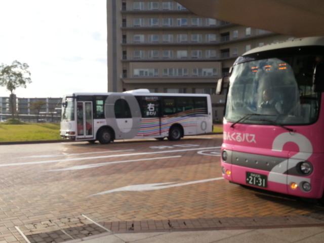 更生病院 - 桜井線バスとみぎまわり循環線バス