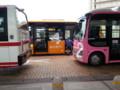 20141105_074307 更生病院 - 名鉄バス、高棚線バス、桜井線バス