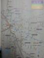 名古屋の鉄道路線図(小学館)