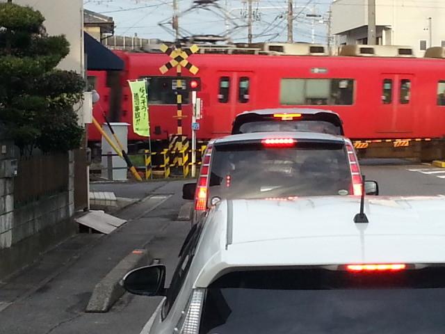 20141212_073933 桜井線バス - 碧海古井ふみきり