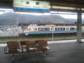 20141215_104548 JR米原のホームからみた近江鉄道米原