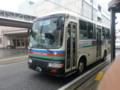 20141215_110858 彦根銀座に停車中の近江バス