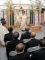 品川駅での工事安全祈願式(東京新聞)