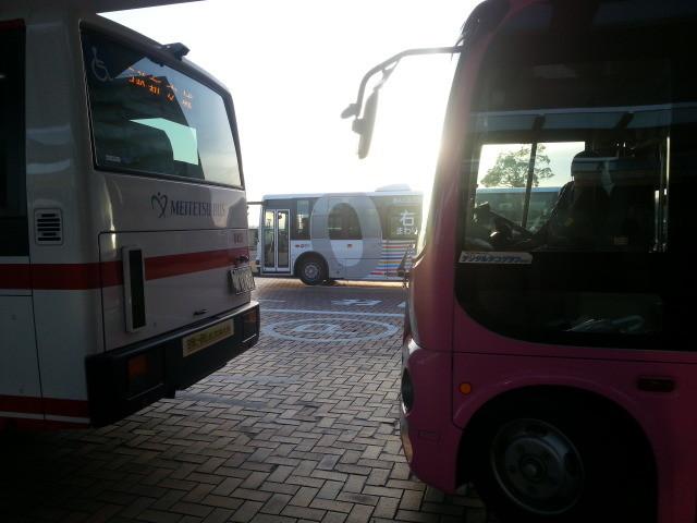 20150128_074307 更生病院 - 桜井線バス