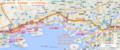 阪神本線 - 復旧路線図 - 1995年神戸地震 (あきひこ)
