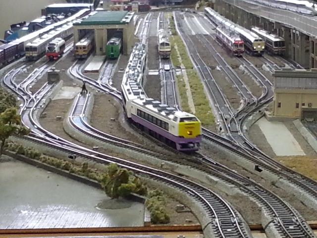 20150221_141436 桜井公民館鉄道模型展 - 白鳥